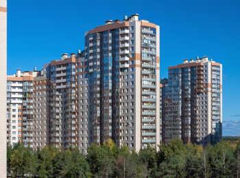 Панорама корпусов ЖК Юбилейный квартал